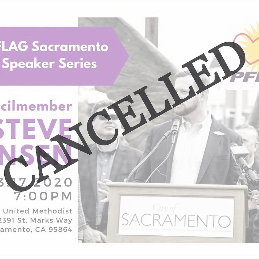 CANCELLED: PFLAG Sacramento Speaker Series