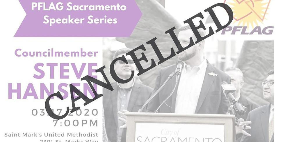 CANCELLED: PFLAG Sacramento Speaker Series