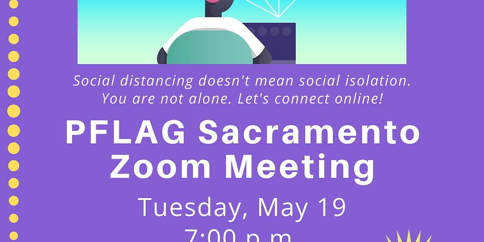 PFLAG Sacramento Virtual Meeting