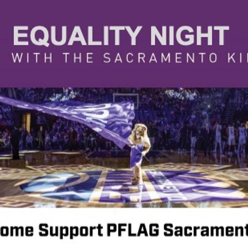Equality Night at the Sacramento Kings Game