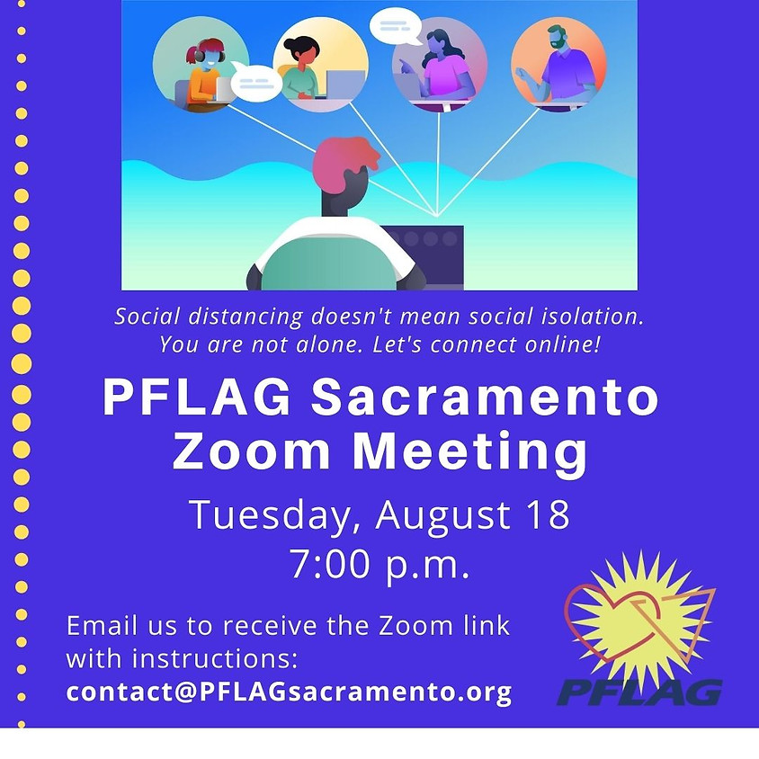 PFLAG Sacramento Support Group Meeting