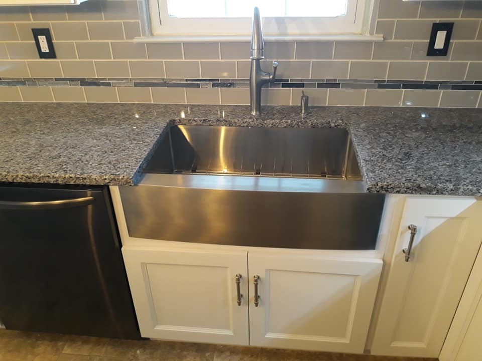 Farmhouse stainless
