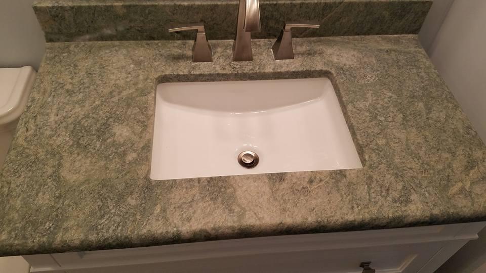 Kohler white sink