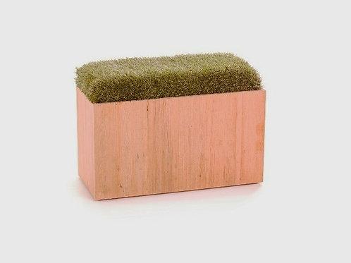 Timber Grass Bench