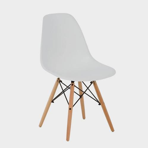 White Scandi-style Chair