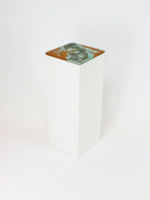 Display Plinth & Copper Patina Top
