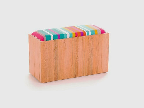 Timber Stripy Bench