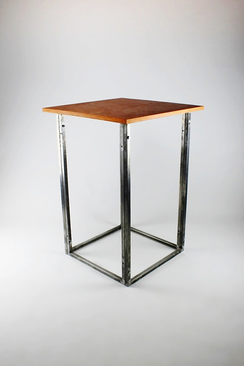 Copper Bar Frame Table