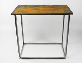 Rusted Bar Table, Event & Exhibition Bar Tables