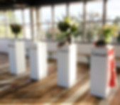 Event, exhibition, product display plinths