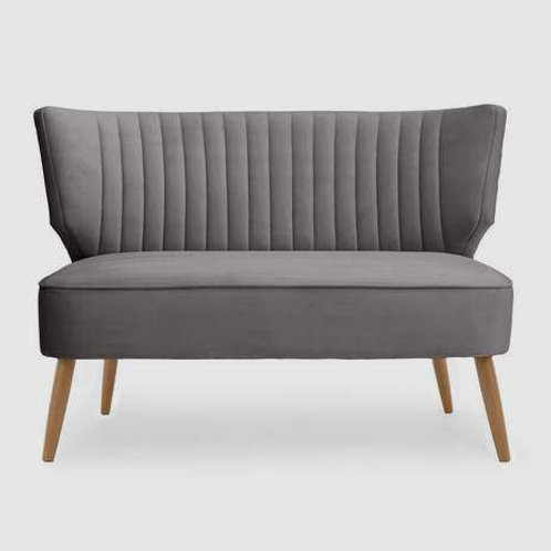 Grey Cocktail 2 Seater