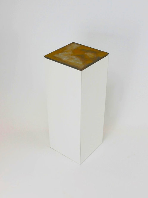 Display Plinth & Rusted Top