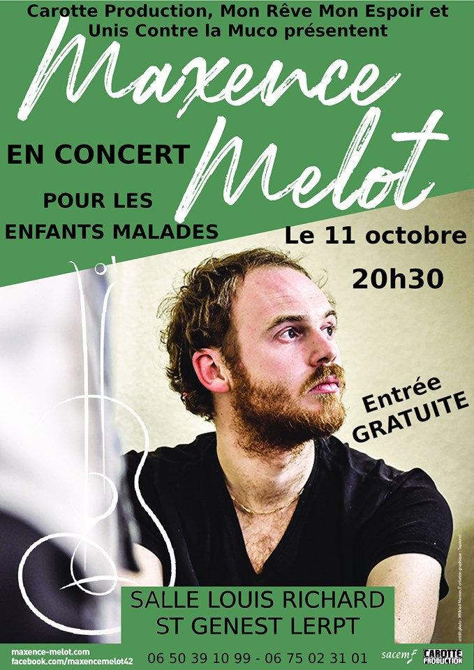 Concert - Mon Rêve, Mon Espoir et Unis Contre La Mucoviscidose
