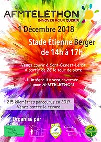 Téléthon - 2018 - Saint-Genest-Lerpt