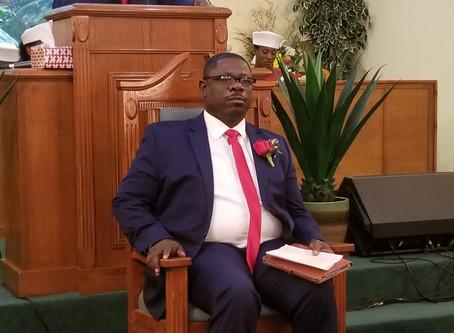 Welcome, Pastor Seneque Saintil to Gulf Stream