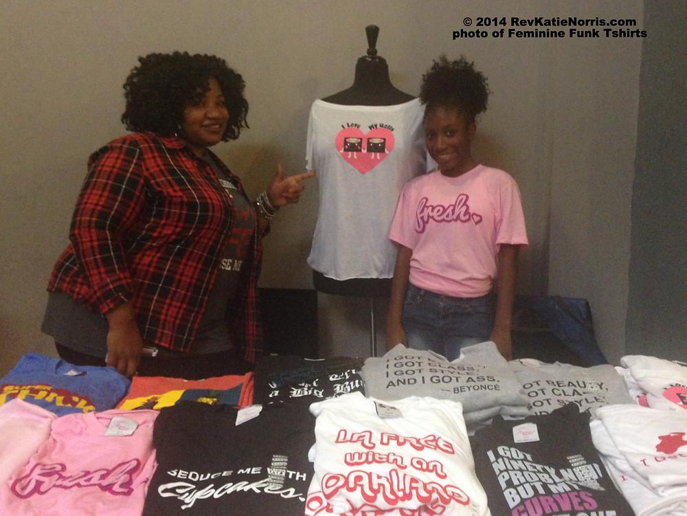 Feminine Funk Tshirts