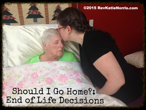 Should I Go Home to Be With My Dying Parent/ Loved One With Dementia?