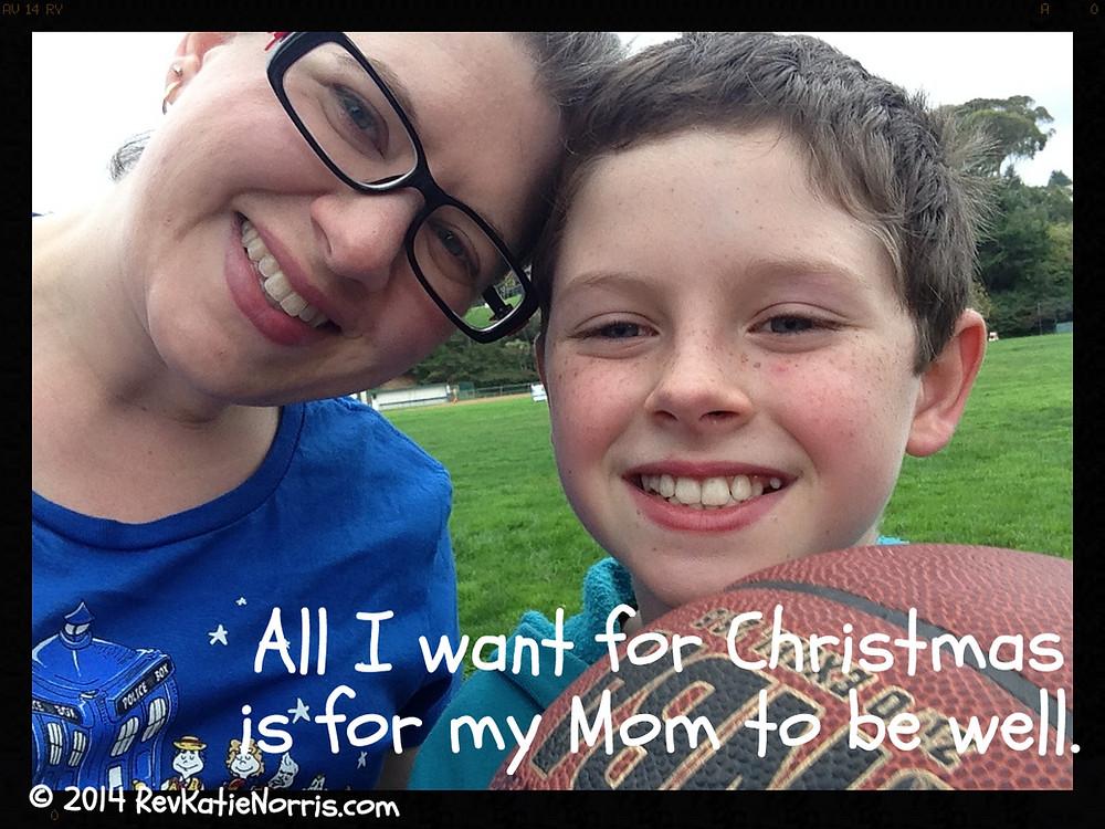 My son's Christmas wish, three years ago.