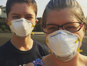 PSA: Peer Pressure, California Fires, and Masks