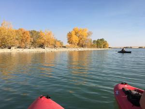 Late Summer on Lake Frances