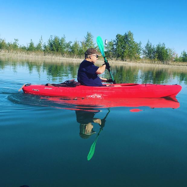 Calm Waters at Lake Frances