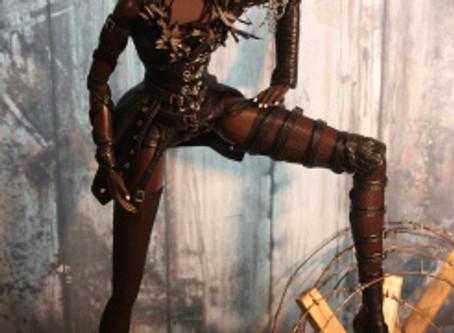 Love for Dark Resin Dolls