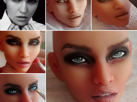 Faceup & Eyelash Tutorial