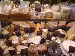Huge Selection of Cheeses