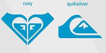 Roxy logo Quiksilver logo