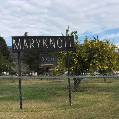 Visit to Maryknoll Sisters at Monrovia, California