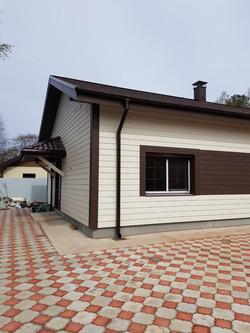 Отделка фасада Велокс дома