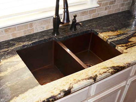 Warm Up Your Kitchen With A Copper Sink