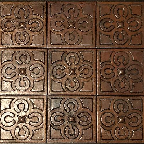Copper Tile (TL258) Set of 9