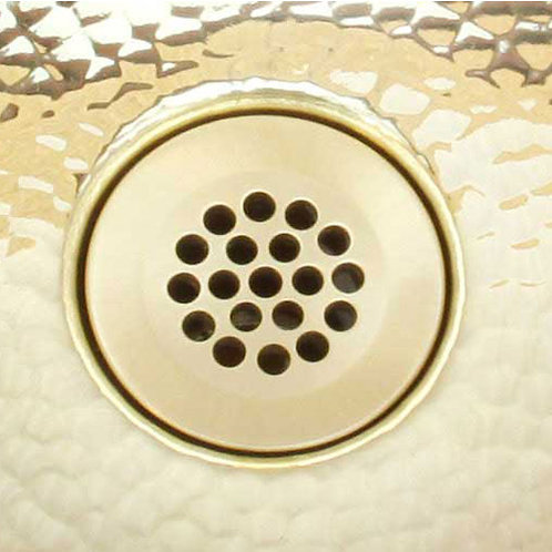Drain for bath brass sink (411-BRS)