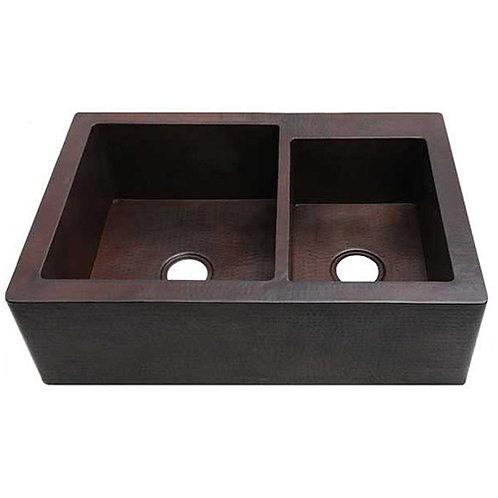 Farmhouse Kitchen Apron Front Sinks-Double Bowl (FHA-W2-6040)