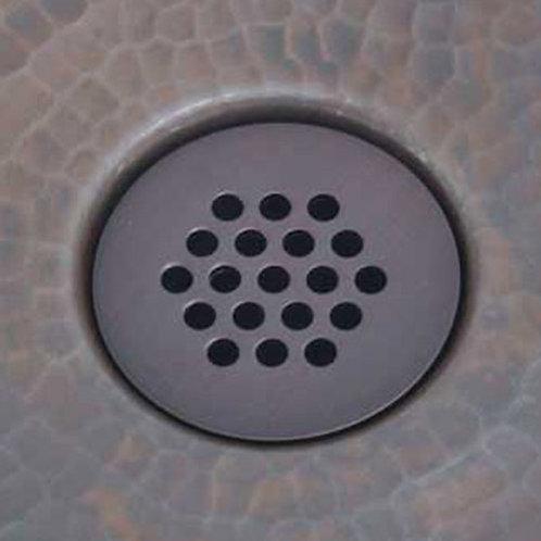 Drain for copper bathroom sink (411-Grid)