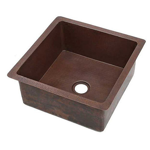 Bar Sink Square Style Copper Sinks (SBVA)