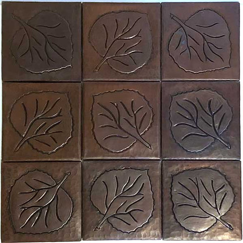 Copper Tile (TL417-F) Set of 9