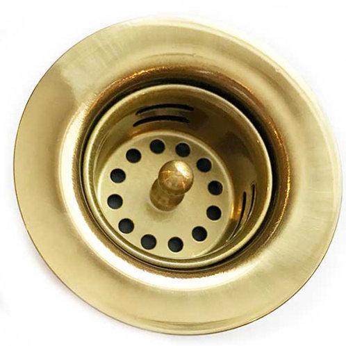 Drain for brass bar sink (220-BRS)