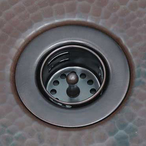 Drain for copper bar sink (220-Bar)