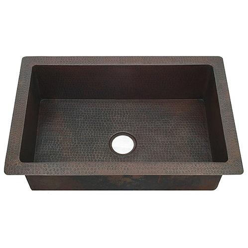 Copper Kitchen Sinks-Single Bowl (KDI-W1)