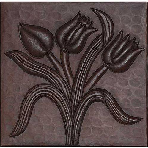 Copper Tile (TL352) Tulips