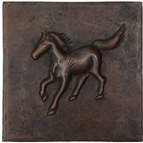 Copper Tile (TL336) Running Colt Design