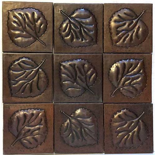 Copper Tile (TL417) Set of 9