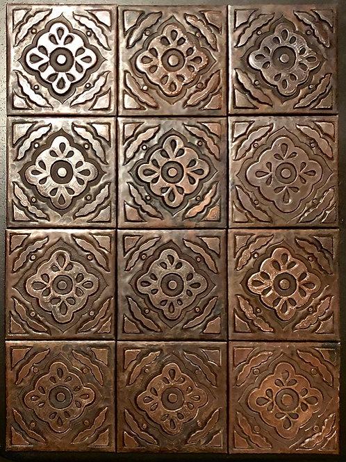 Copper Tile (TL904) Set of 12