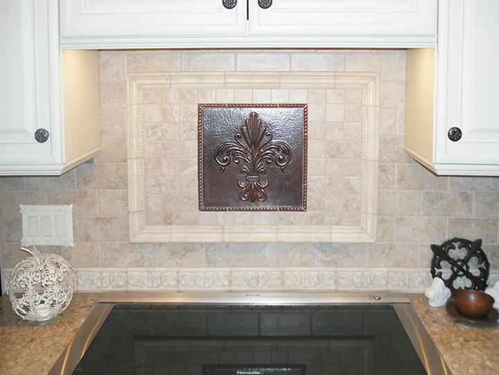 TL993-12x12 Copper Accent Tile
