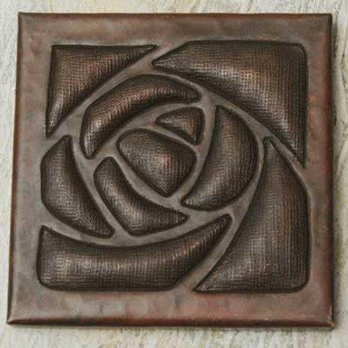Copper Tile (TL338) Arts & Crafts Design