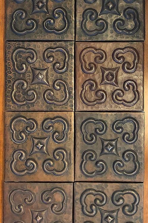 Copper Tile (TL250) Set of 8