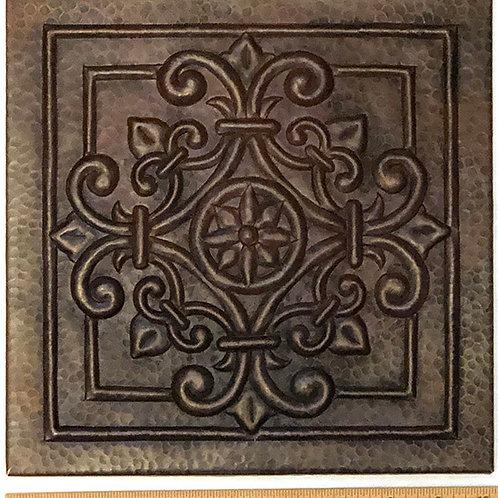 Copper Tile (TL982) 10x10