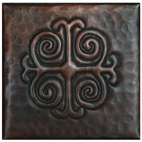 Copper Tile (TL302) Medallion Design
